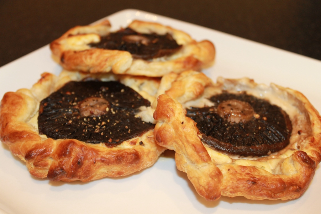 Mushroom Pastries From The Hairy Bikers