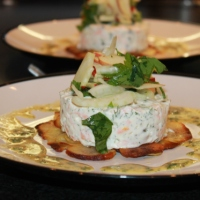 Smoked Salmon and Dill Tian - The Hairy Bikers Have Gone All Gourmet
