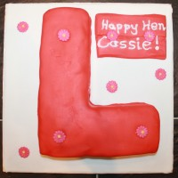 How to Make an Emergency Hen Party Cake - the 'L' Plate Cake, or Big Red Willy - You Decide!