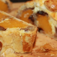 Butternut Squash and Caramelized Pecan Nut Wellington