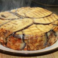 Aubergine Pasta Pie